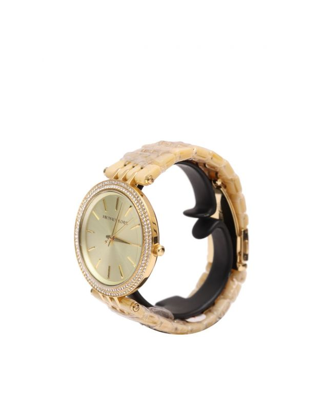 Darci Mini Gold Dial Gold-tone Ladies Watch