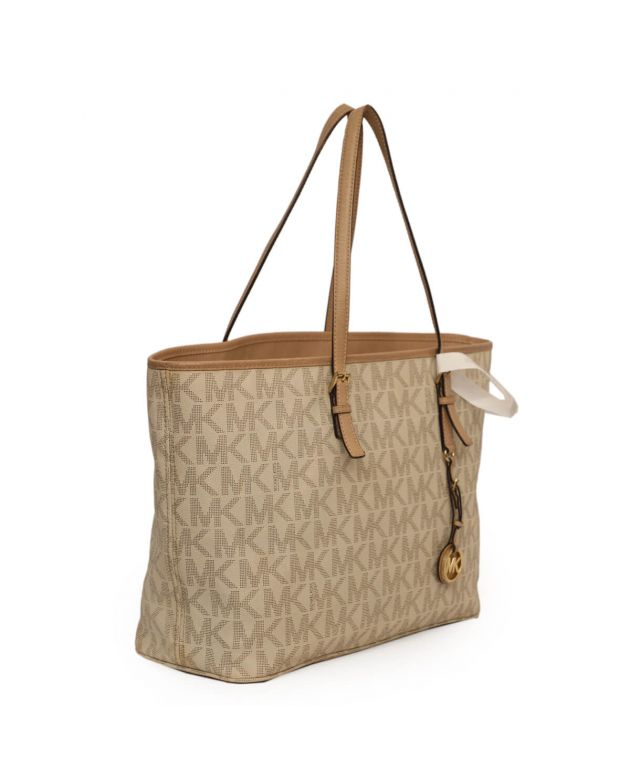 Michael Kors Vanilla Jet Set Travel Tote