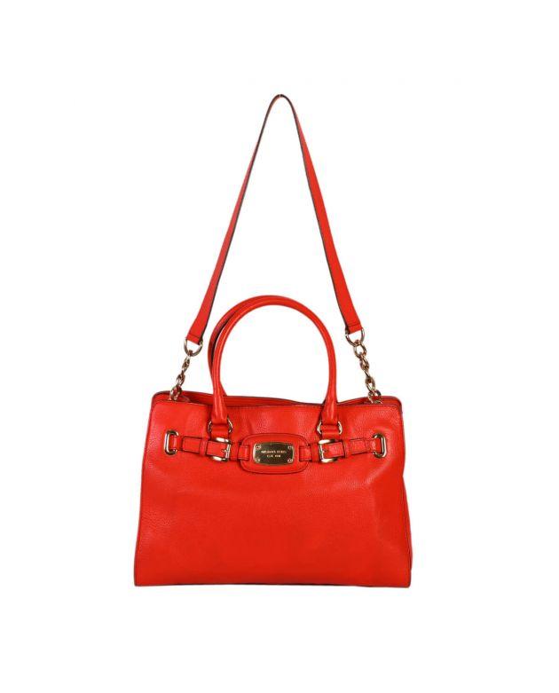 Michael Kors Orange Hamilton Medium Tote