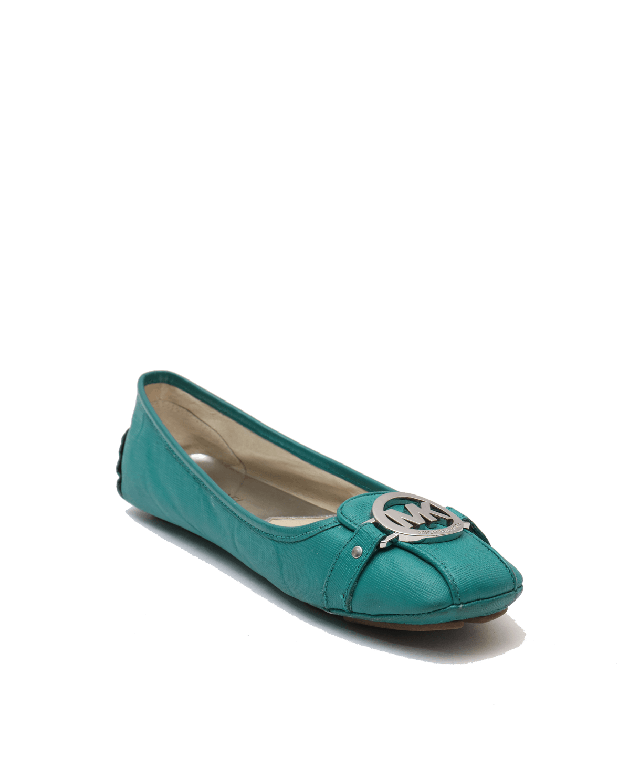 Michael Kors Green belle flats