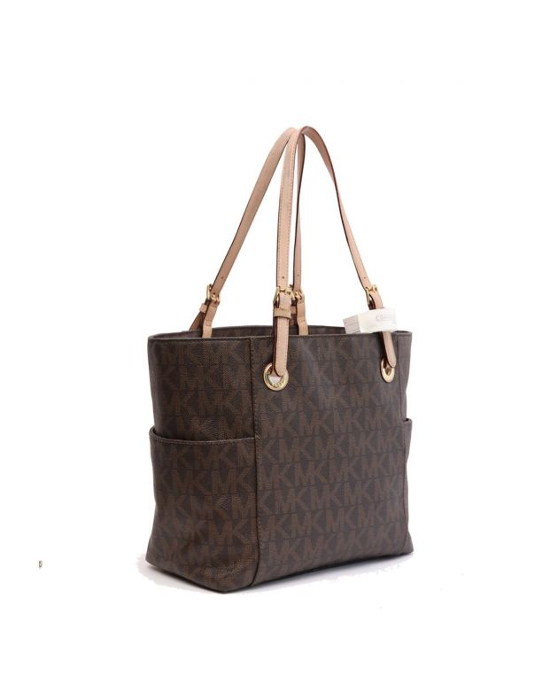 Monogram East West Tote Bag