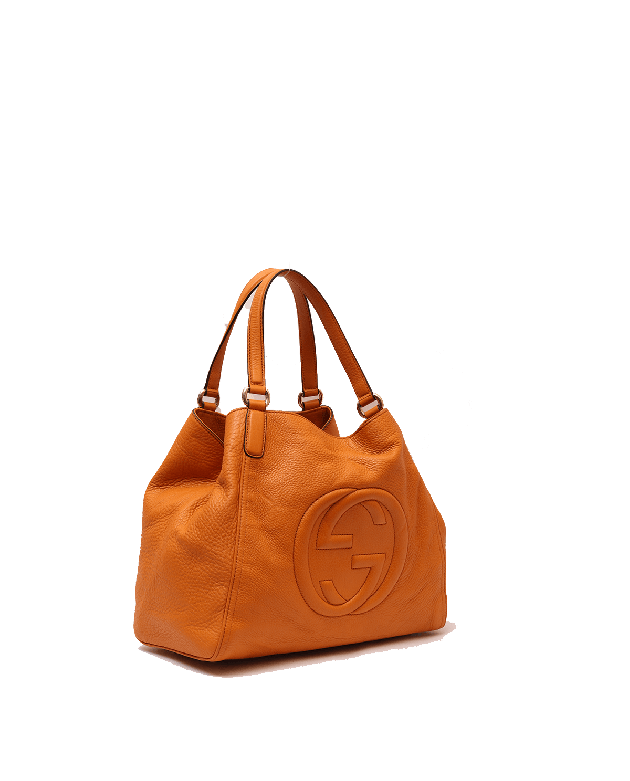 Gucci Rust Orange Soho Tote