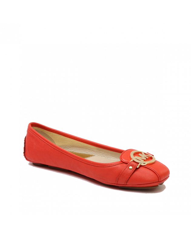 Michael Kors Orange Belle Flats Size 9.5