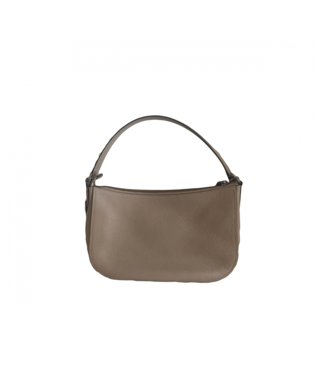 Polished Pebbled Leather Sutton Crossbody Bag