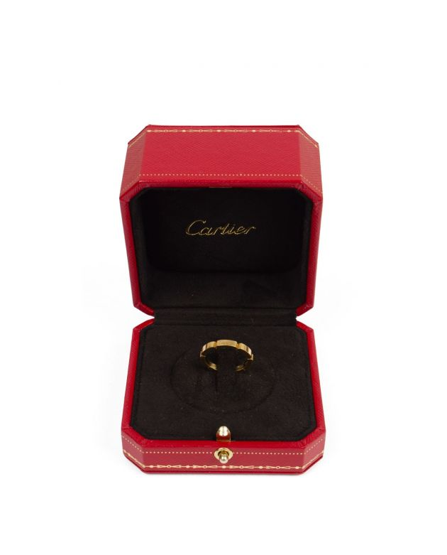 Cartier Lanières Gold Band Ring