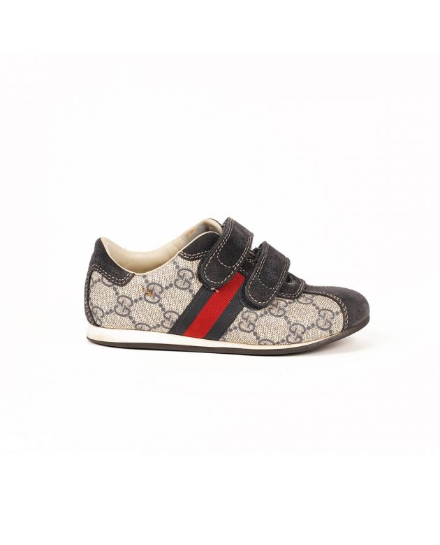 Gucci Children'S Ace Gg Supreme Sneaker Size - 28