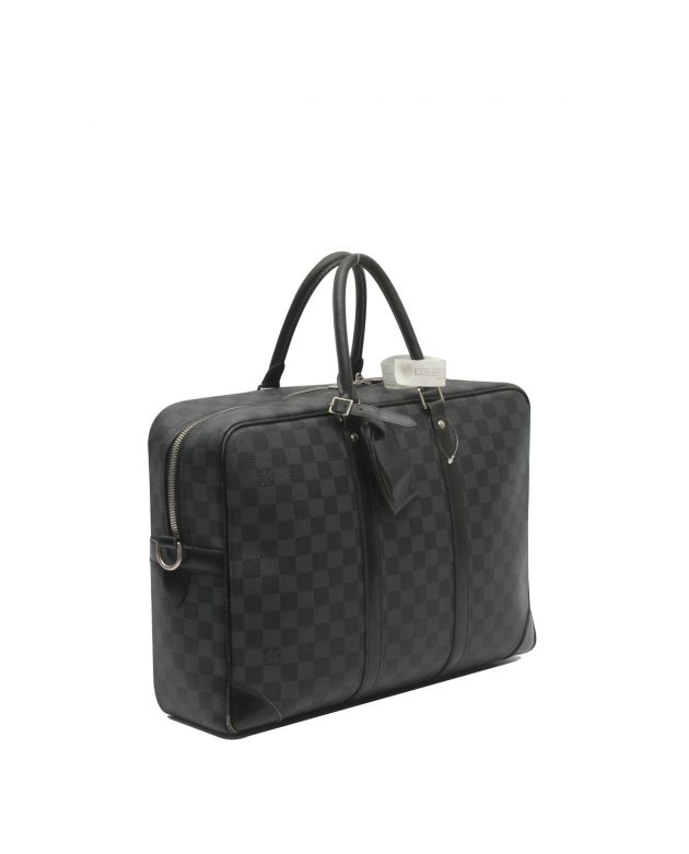 Damier Graphite Icare Messenger Lap top Bag