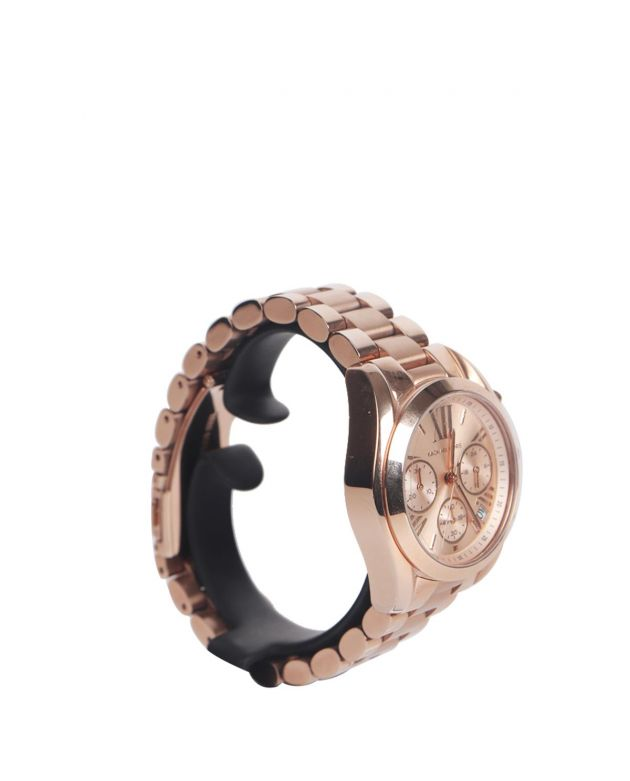 Mini Bradshaw Rose Gold-Tone Stainless Steel Watch