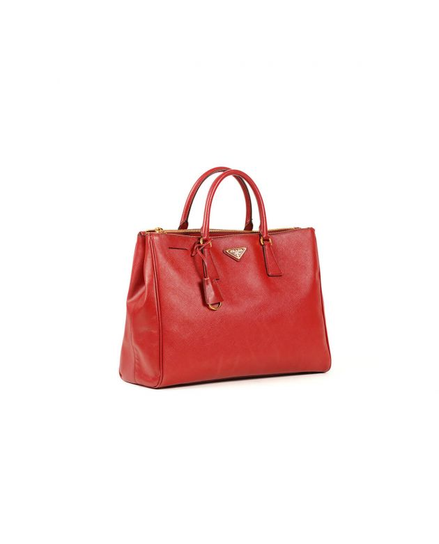 Prada Luxe Tote Bag Red