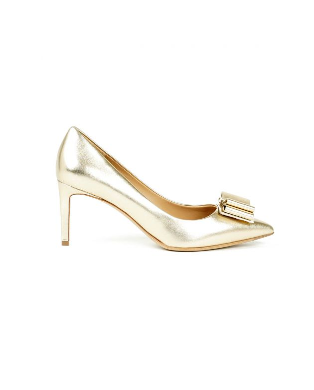 Salvatore Ferragamo Double Bow Pumps