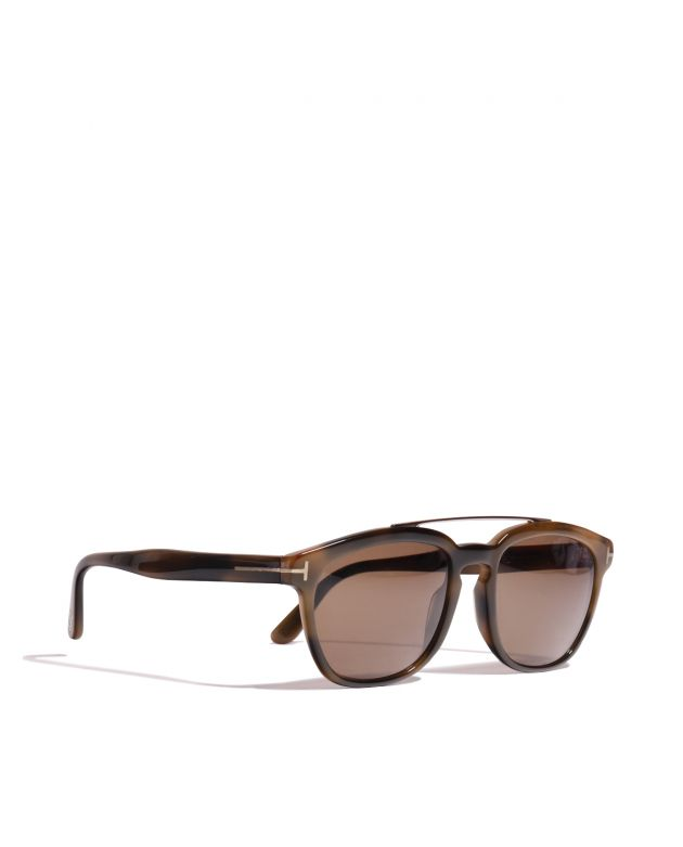 Animal Print Acetate Sunglasses