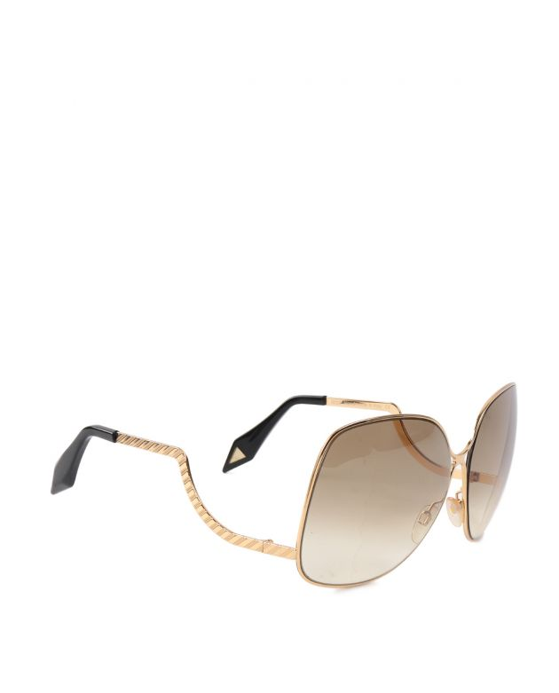 Victoria Beckham metal drop metal sunglasses