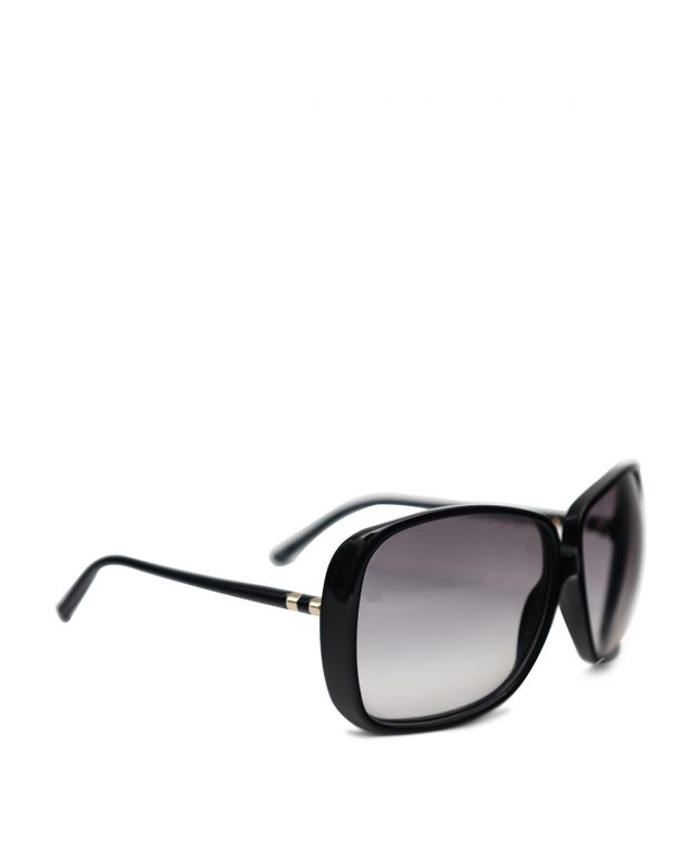 Yves Saint Laurent black square sunglasses
