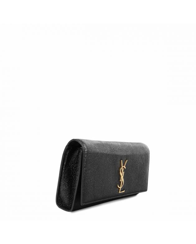 Saint Laurent Black Belle De Jour Clutch