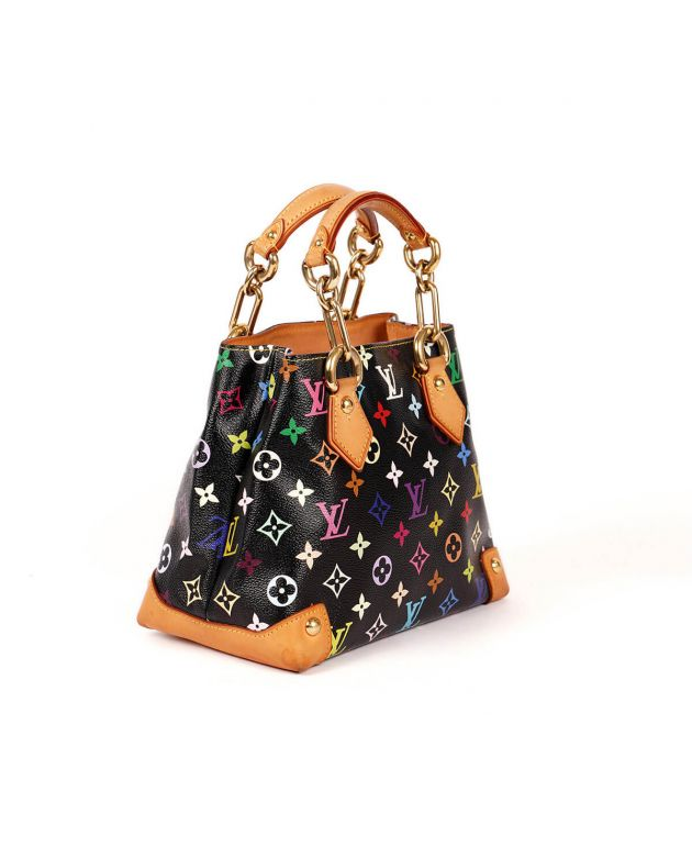 LV Multicolor Audra Top Handle Bag