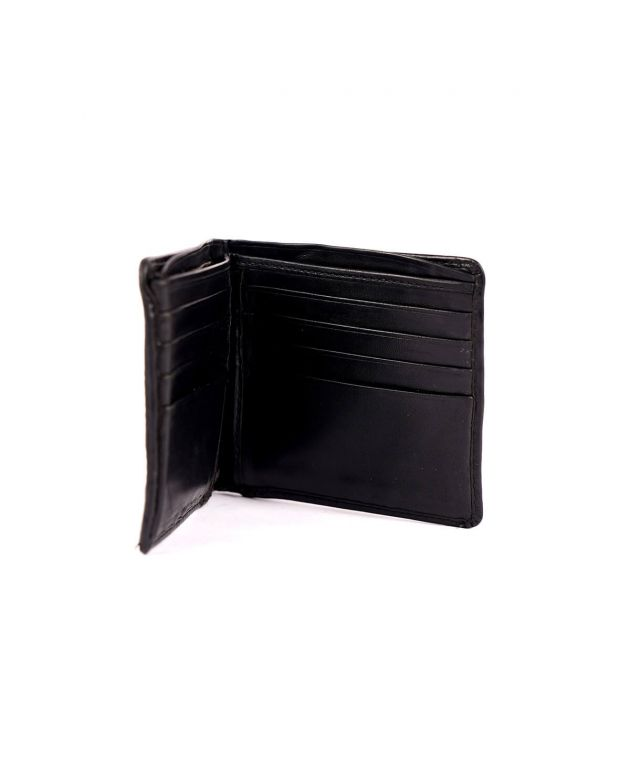 Men's Nova Check Leather Strip Check Wallet