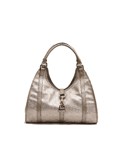 Gucci Guccisima Metallic Jackie Shoulder Bag