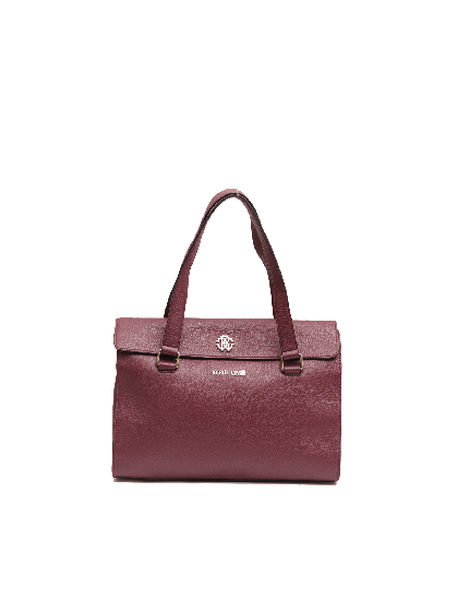 Roberto Cavalli Wine Regina Top Handle Bag
