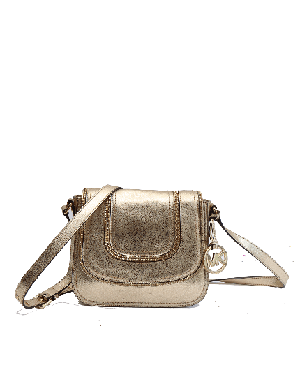 MICHAEL KORS GOLD SLING BAG