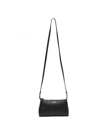 Fendi Black Leather Crossbody Bag