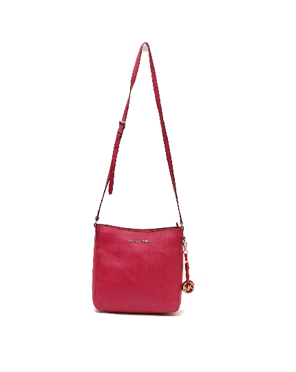 MICHAEL KORS PINK MESSENGER CROSSBODY