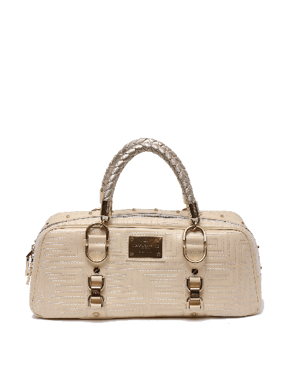Gianni Versace Quilted Top Handle