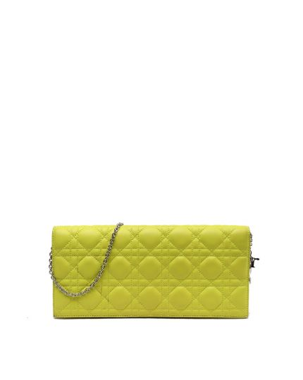 DIOR CANNAGE QUILTED LEATHER REDEZ-VOUS CLUTCH BAG