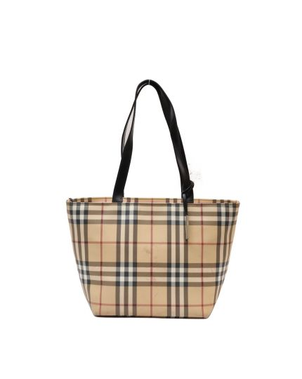 Burberry East West Nova Check Tote