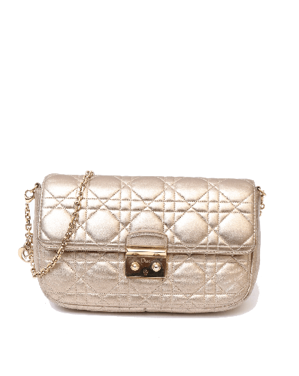 Miss Dior Gold Cannage Bag
