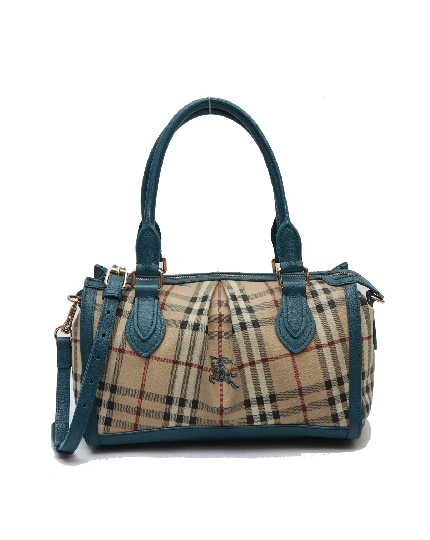 Burberry Haymarket Check Tote