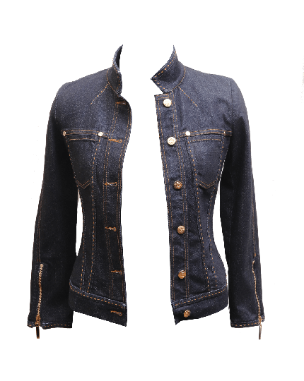 Roberto Cavalli Denim Jacket Size 38