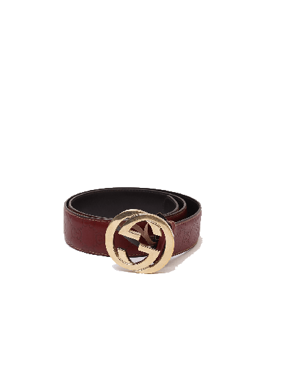 Gucci Guccissima Brown Belt - SIZE 34