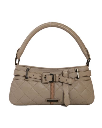 Burberry Quilted Leather Pochette Shoulder Bag