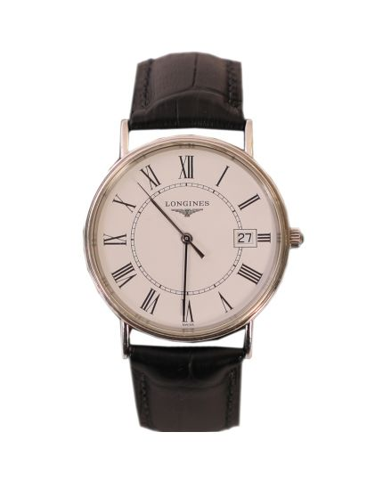 Longines La Grande Classique De Longines Watch With Leather Strap