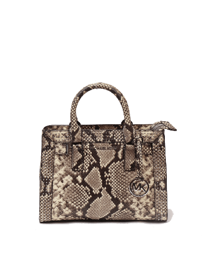 Michael kors snake pebbled leather crossbody bag