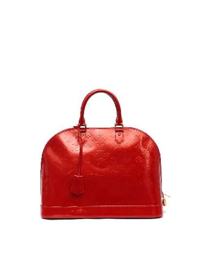 Louis Vuitton Patent Leather Alma GM