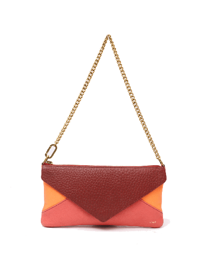 Chloe Colorblock Envelope Pochette