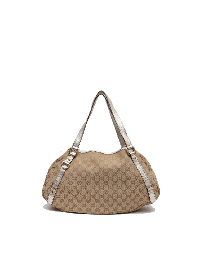 Gucci Monogram Abbey Shoulder Bag