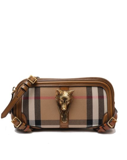 BURBERRY NOVA CHECK SLING BAG