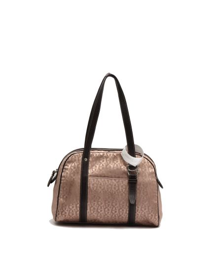 Signature fabric Shoulder Bag