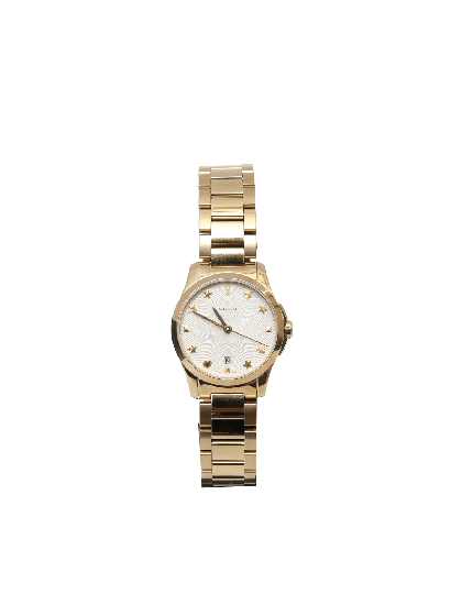 Gucci G-Timeless Gold Watch
