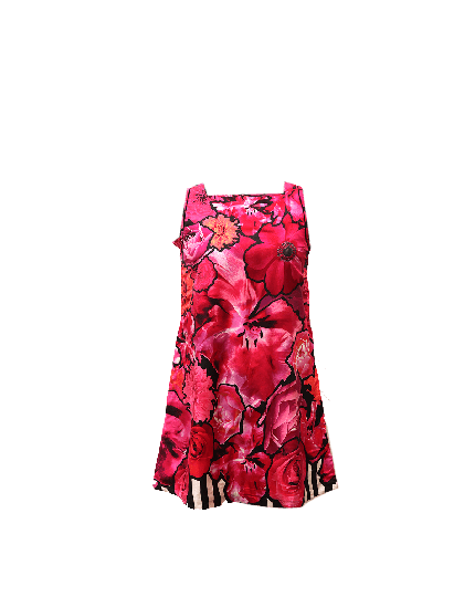 Roberto Cavalli Floral Pink Dress Size 42