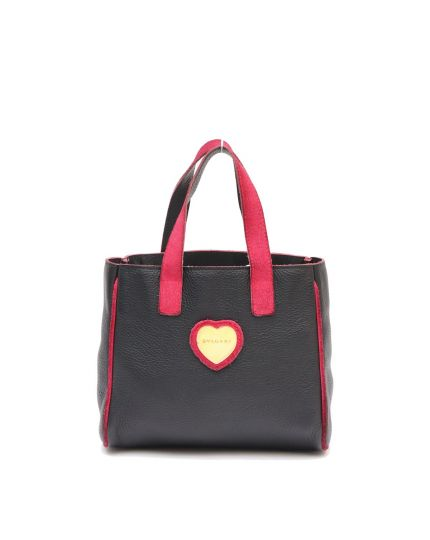 BVLGARI BLACK SMALL TOTE BAG