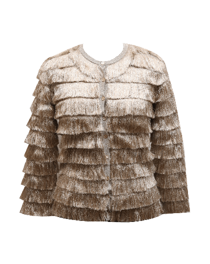 Missoni Golden Tassel Cardigan
