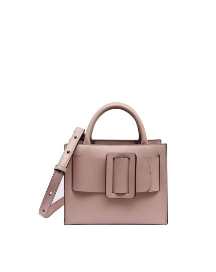 Pink Bobby 23 Leather Tote Bag