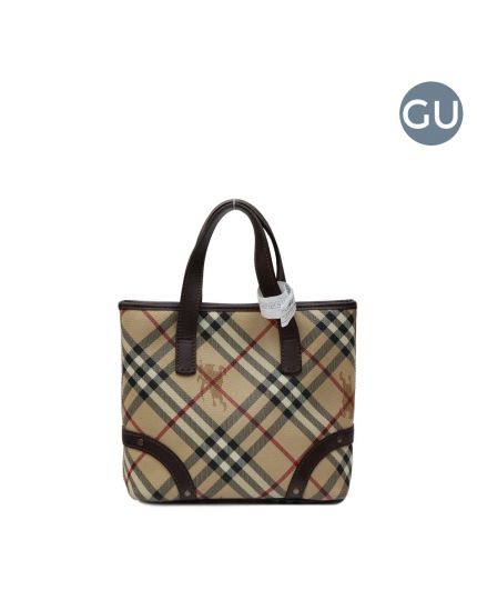 Burberry haymarket tote bag