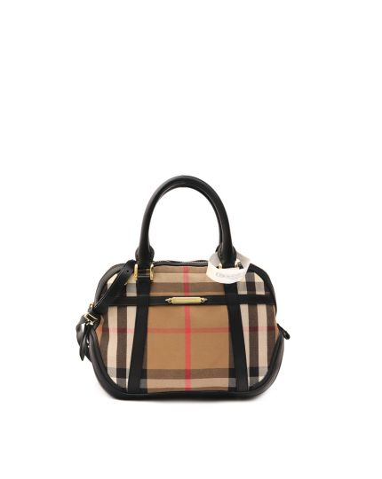 Bridle House Check Orchard Bowling Bag Black