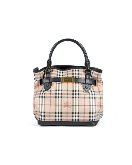 Burberry W Hay-Market Check Bag