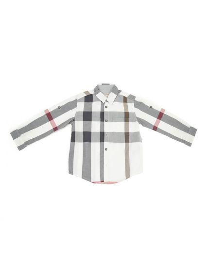 Vintage Check Cotton Shirt Size 4Y/102 cm