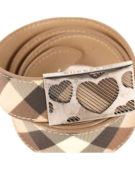Signature Heart Buckle Belt Size - 36